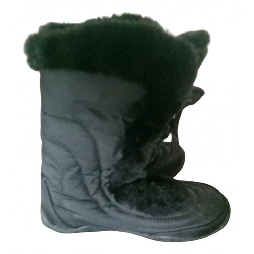 The North Face Black Cloth Ankle Boots