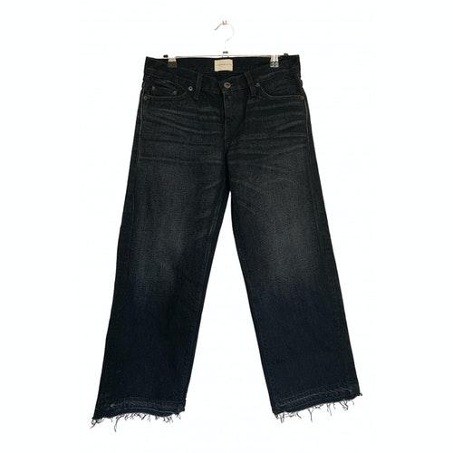 Simon Miller Black Cotton Jeans
