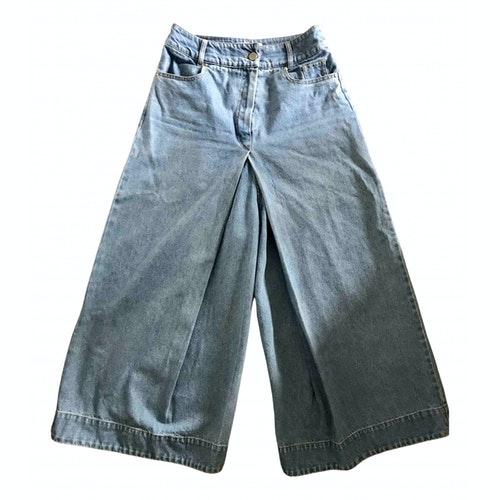Christian Wijnants Blue Denim - Jeans Jeans