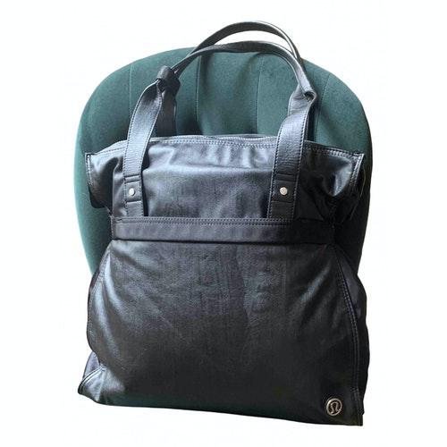 Lululemon Black Travel Bag