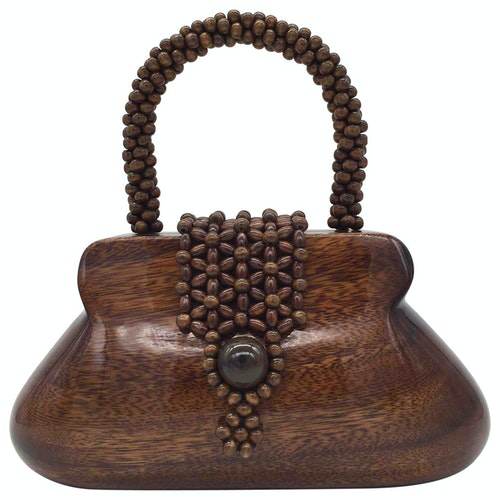 Rocio Brown Handbag