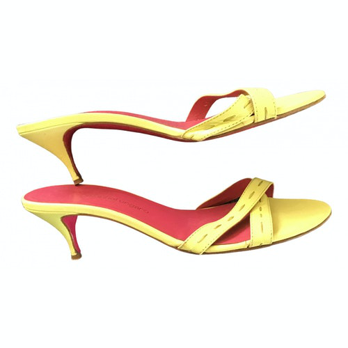 Emanuel Ungaro Multicolour Leather Sandals