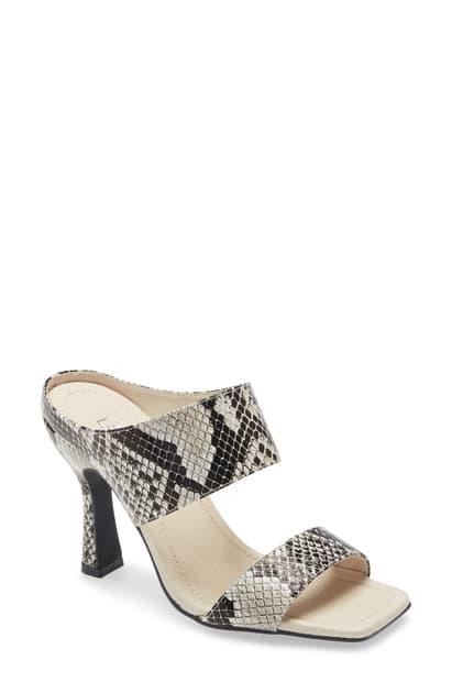 Sol Sana Marisol Sandal In Snake Print Leather