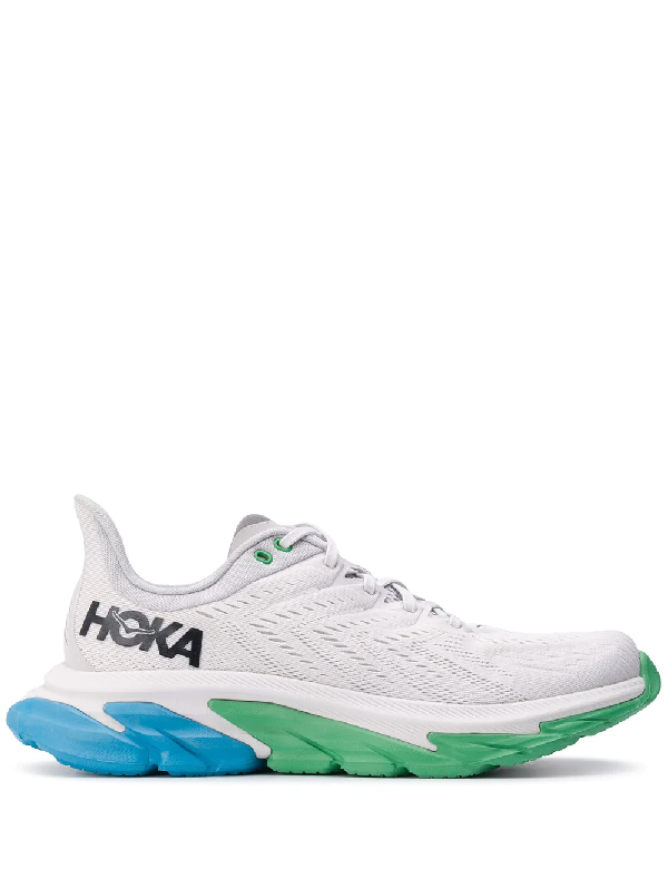 Hoka One One Clifton Edge Mesh Sneakers In Grey