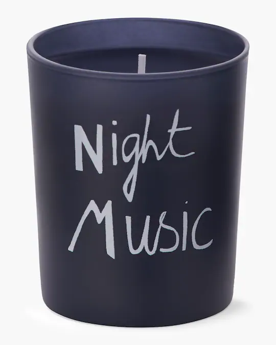 Bella Freud Parfum Night Music Candle In No Color