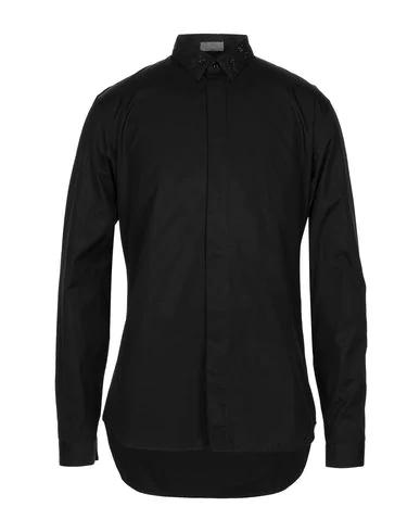 Dior Solid Color Shirt In Black