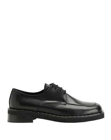 8 By Yoox Laced Shoes In Black