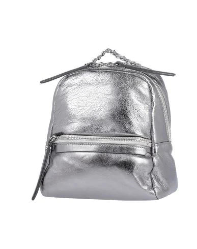Gianni Chiarini Backpack & Fanny Pack In Gray