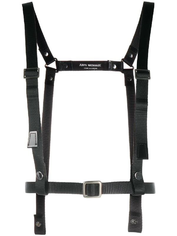 Junya Watanabe Nylon Strap Harness In Black