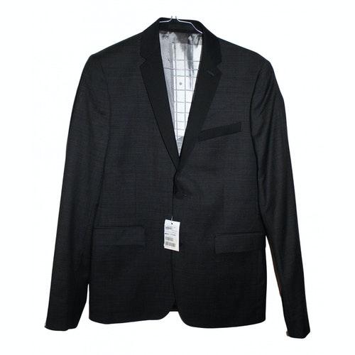 Azzaro Black Wool Jacket