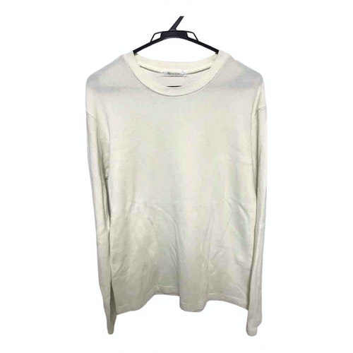 Y's White Cotton Knitwear & Sweatshirts