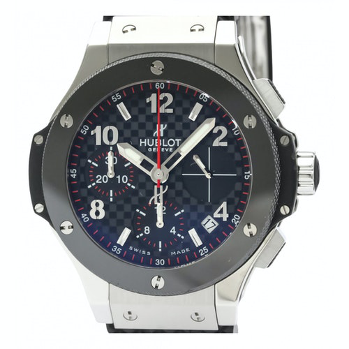Hublot Big Bang  Grey Steel Watch