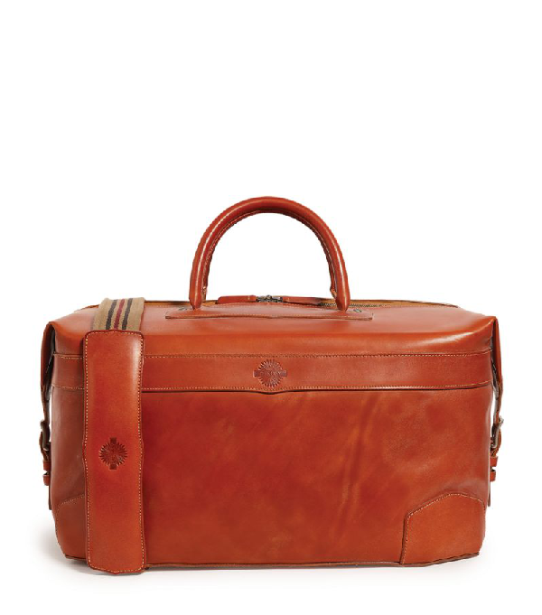 Purdey The 48hr Leather Weekend Bag