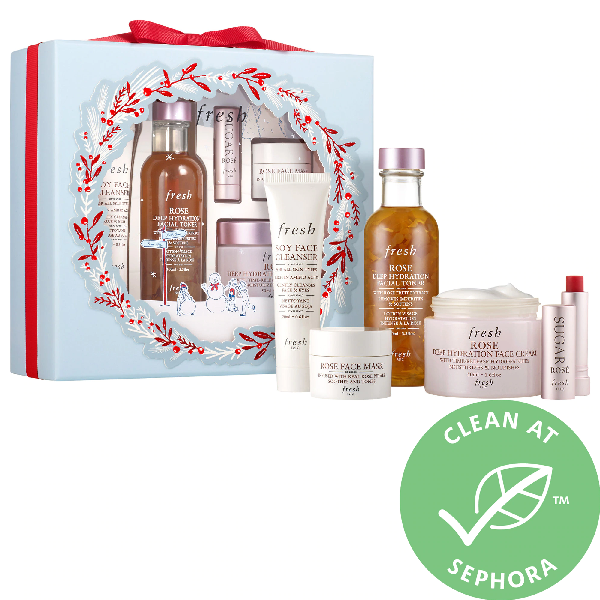 Fresh Rose Hydration Skincare Set