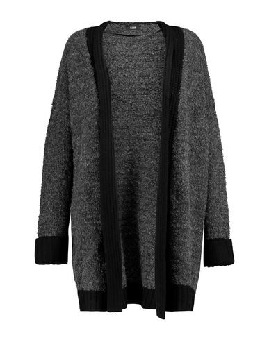 Line Cardigan In Steel Grey