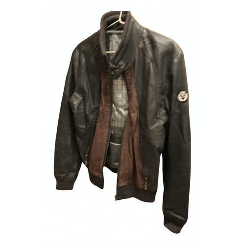 Azzaro Multicolour Leather Jacket