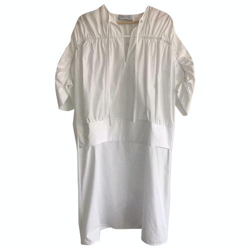 Christian Wijnants White Cotton Dress