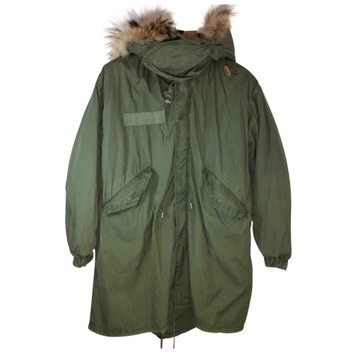 Barbed Green Rabbit Coat