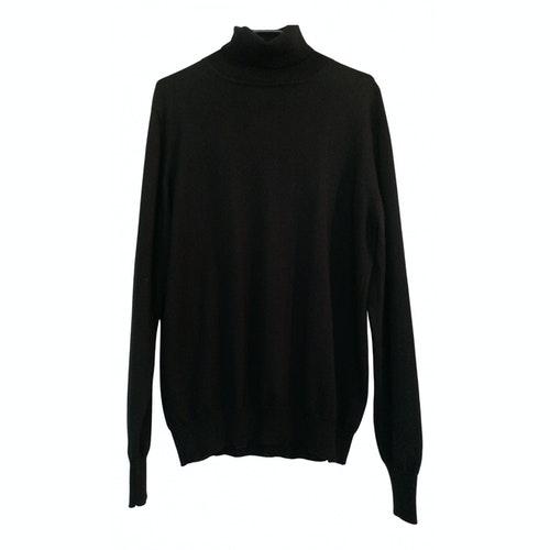 Azzaro Black Wool Knitwear & Sweatshirts