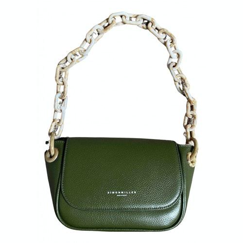 Simon Miller Green Leather Handbag