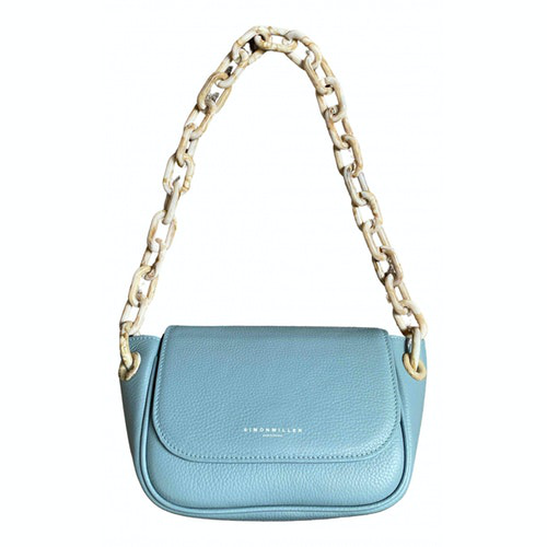 Simon Miller Blue Leather Handbag