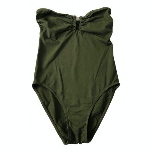 Eres Khaki Lycra Swimwear