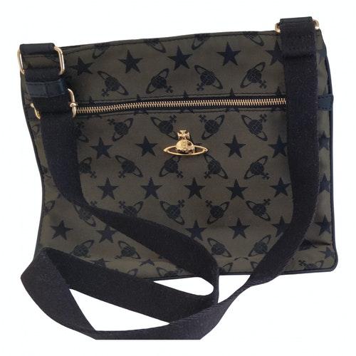 Vivienne Westwood Green Cloth Bag