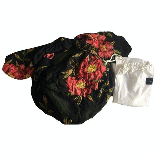 Simone Rocha Black Cloth Handbag