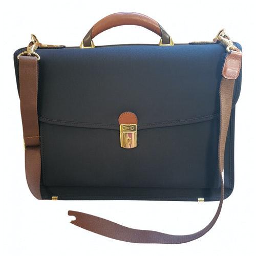 Bric's Brown Cloth Handbag