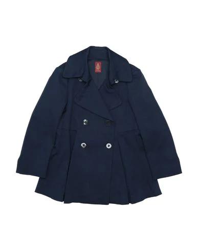 Dondup Full-length Jacket In Dark Blue