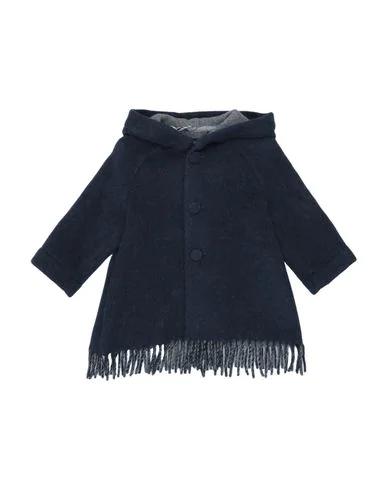 Il Gufo Coat In Dark Blue