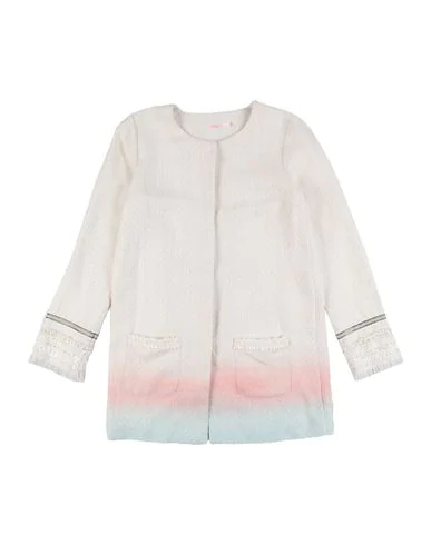 Billieblush Full-length Jacket In Ivory