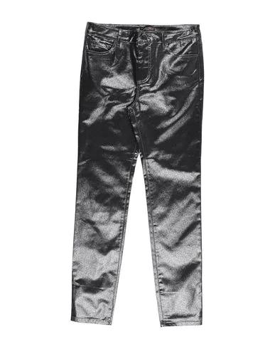 Trussardi Junior Denim Pants In Black