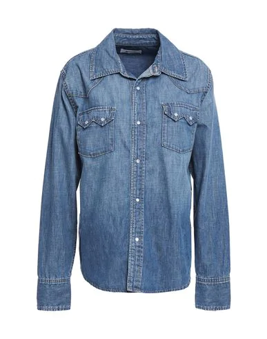 Re/done Denim Shirt In Blue