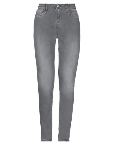 7 For All Mankind Denim Pants In Gray