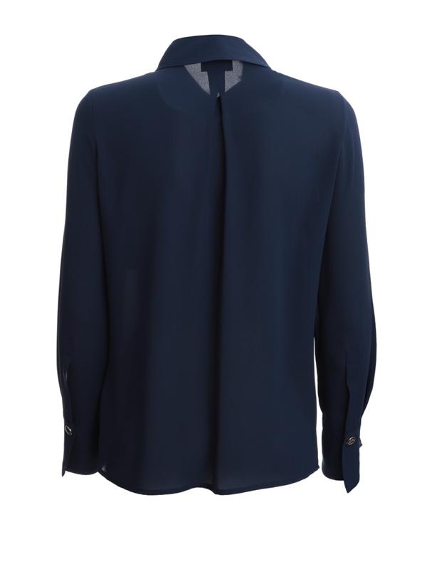Elisabetta Franchi Blue Nylon Shirt