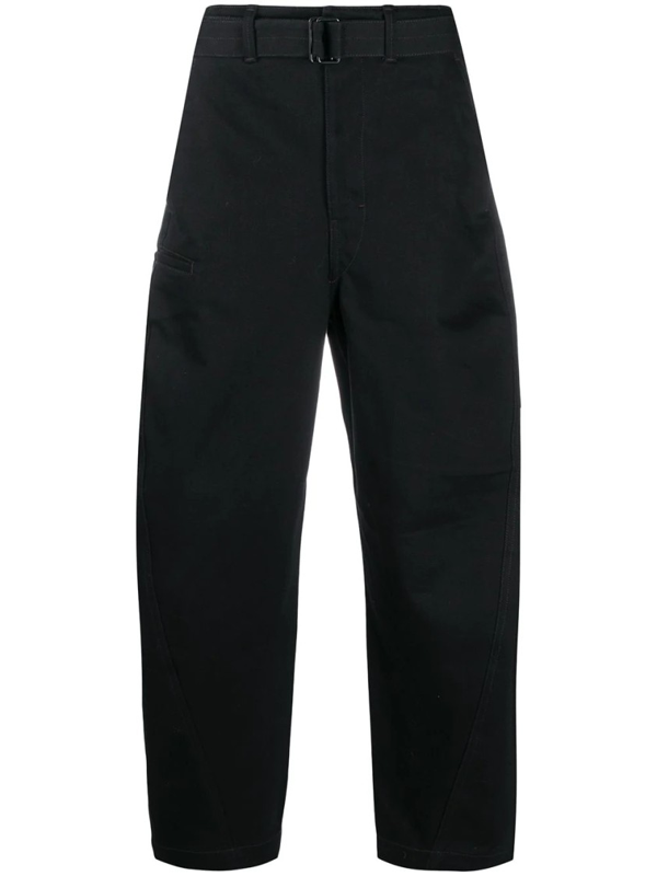 Lemaire Balloon-leg Trousers In Black