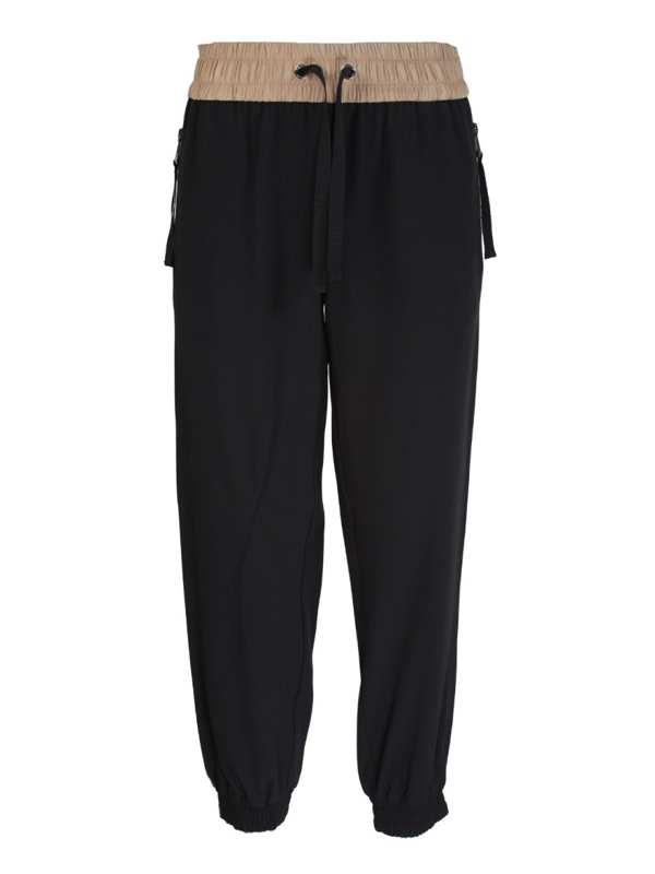 Moncler Black Acetate Pants