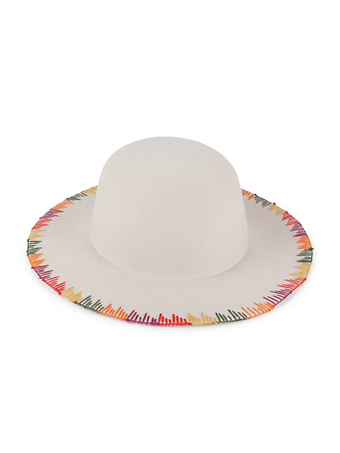 San Diego Hat Company Wool Felt Hat In Oatmeal
