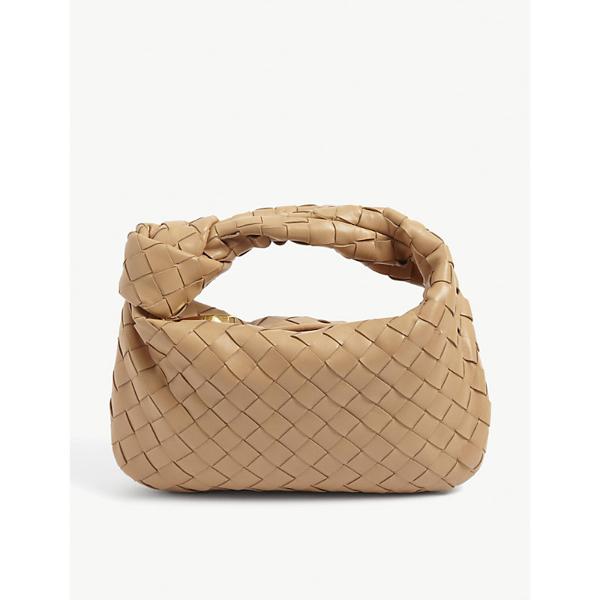 Bottega Veneta Mini Bv Jodie Intrecciato Leather Hobo Bag