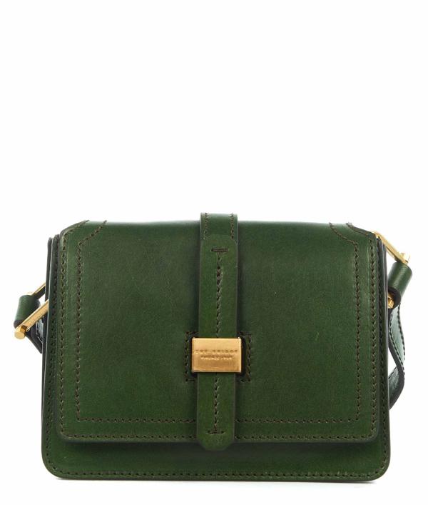 The Bridge Women's Green Shoulder Bag