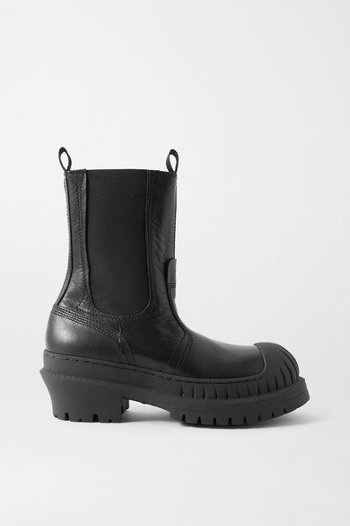 Acne Studios Bryant Lug-sole Chelseas Boots In Black