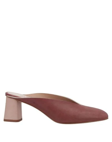 Alysi Mules And Clogs In Red