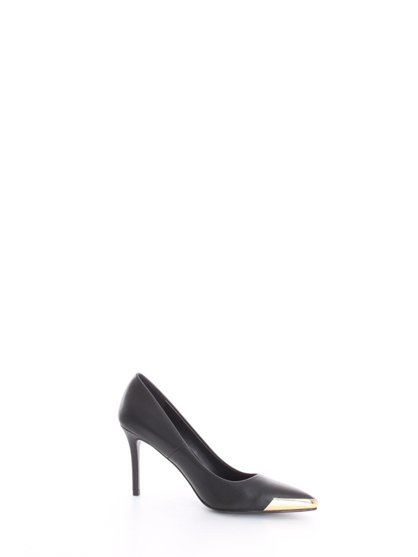 Versace Women's Black Leather Pumps