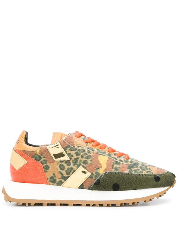 Ghoud Venice Low-top Sneakers In Multicolor