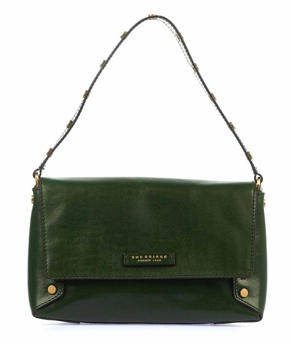 The Bridge Women's Green Handbag