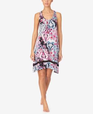 Ellen Tracy Women's Sleeveless Nightgown In Multi