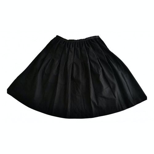 Claudie Pierlot Black Wool Skirt