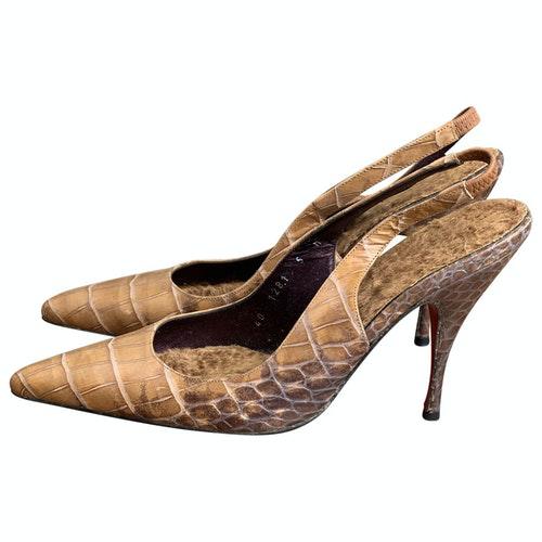 Emanuel Ungaro Leather Heels