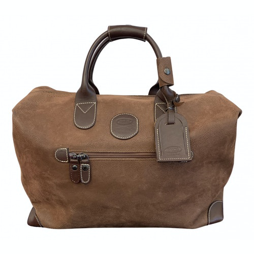 Bric's Brown Travel Bag
